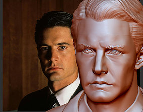 Twin Peaks Dale Cooper Kyle Maclachlan bust for 3D