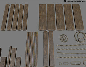 3D asset Woods and Ropes