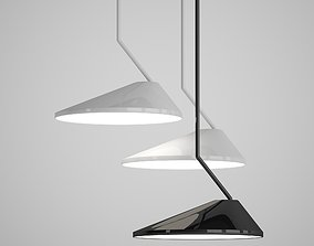 Vitoria Hanging Lamp by Romatti lamp 3D