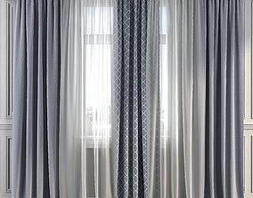 3D Curtain Set 279