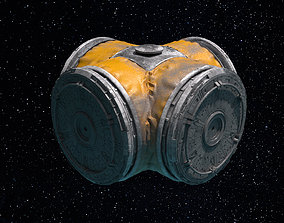 3D model Space Module 009