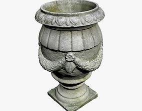 Historical Vase 3D model VR / AR ready