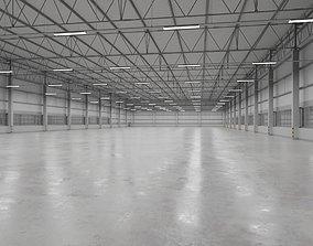 Warehouse Interior 9 3D asset