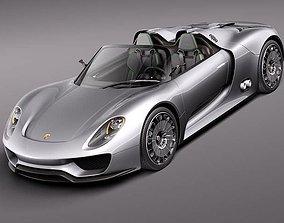 3D model Porsche 918 Spyder 2012