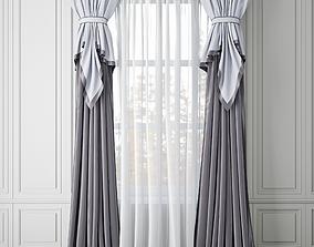 Curtain 3D model blind