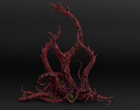 Tentacle Tree Pack 3D asset