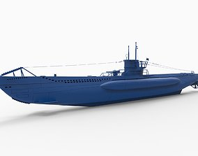 U-boat Types Type VII 3D print model