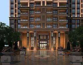 Residential Entrance 3D model