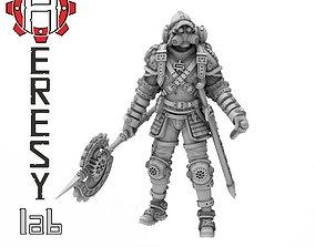 3D printable model Heresylab - Steam Punk Edgar Axel
