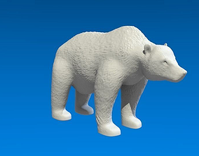 Grizzly Bear 3D printable model