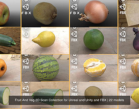 Fruit And Veg 3D Scan Collection for Unreal and PBR 2