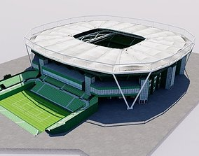 Gerry Weber Stadion 3D model