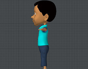 3D asset Adult Model