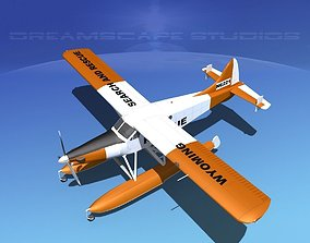 3D model DeHavilland DHC-2 Turbo Beaver V06