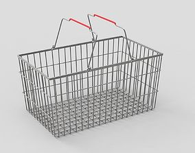 3D Shopping Metall Basket