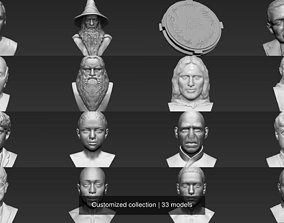 Customized collection 3D model