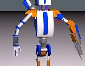 robot of The Lost Age 3D printable model