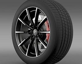 Toyota 86 G wheel 3D model