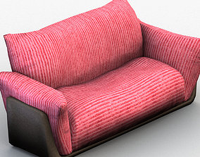 3D model Two Seat Sofa