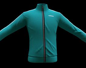 adidas jacket skirt 3D model realtime