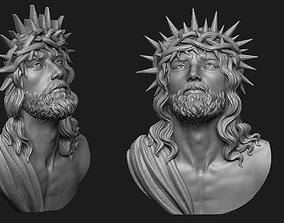 Jesus Head Pendant 3 3D printable model