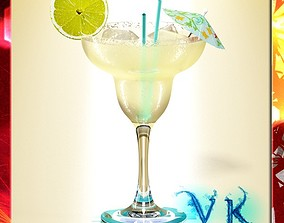 Margarita Cocktail - High Detailed 3D