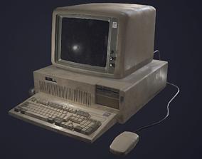 3D model IBM compucter