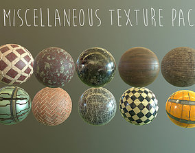 3D 2k PBR Texture Pack