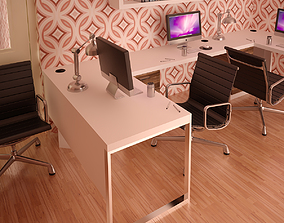 3D Office Interior 02