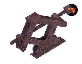 3D Mechanical Jack Raw Scanned
