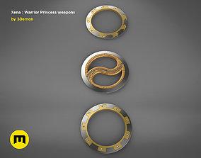 Xena - Warrior Princess Chakrams 3D print model