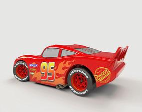 3D model Lightning McQueen