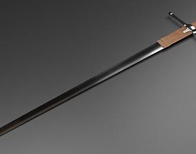 William Wallace Sword 3D asset