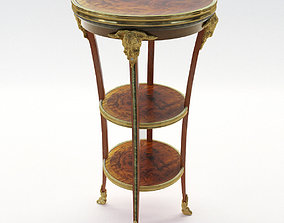 3D Neoclassical salon etagere - France about 1900