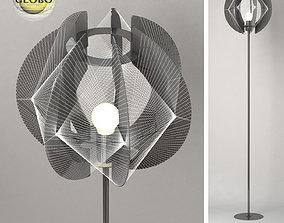 Floor lamp Globo lightning 3D