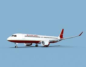 Airbus A220-300 Air Charter America 3D model