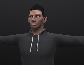 Glad Valakas 3D asset rigged