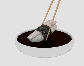 3D model Chopstick Dip Dory Sushi