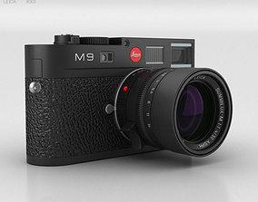 3D Leica M9 Black