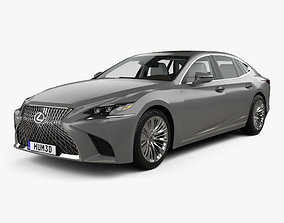 3D Lexus LS XF50 with HQ interior 2017