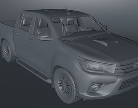 Toyota Hilux 3D model VR / AR ready