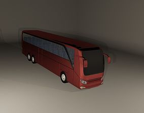 3D model High poly bus