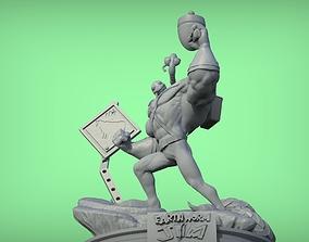 3D printable model Earthworm Jim