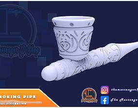 Tribe Smoking Pipe 3D print model