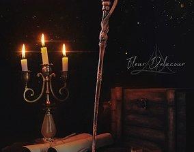 3D printable model Fleur Delacour Wand - Harry Potter