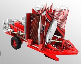 Gilles R136 Loader 3D asset