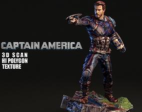 Captain America 3DSCAN 3dmodel