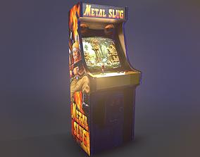 Metal Slug Arcade Cabinet 3D model