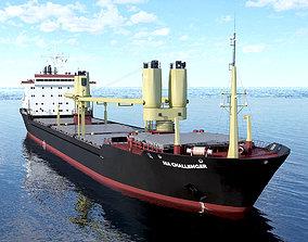 3D asset General Cargo Ship