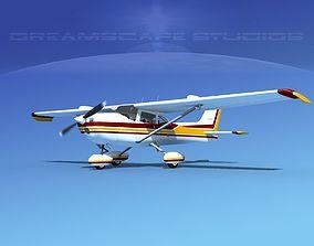 3D model Cessna 172 Skyhawk STOL V03